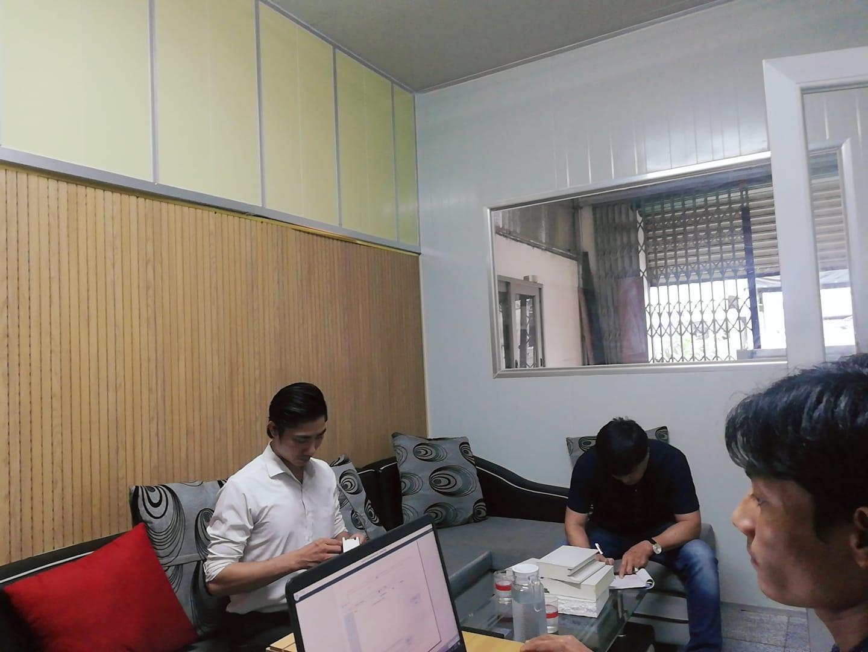 văn phòng dựng bằng tấm panel cách nhiệt