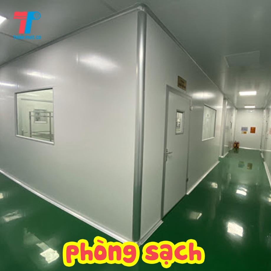 panel cách nhiệt thi công phòng sạch