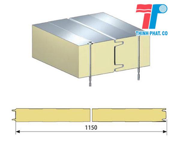 tấm panel cách nhiệt 2 mặt tôn