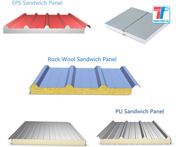 Tấm panel mái cách nhiệt cho các công trình cách nhiệt